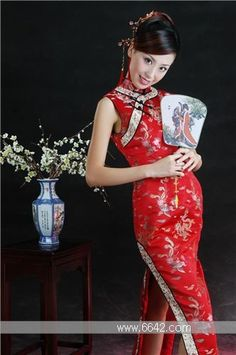 Qipao, Chinese Traditional dress, change into after ceremony for the reception! #Asian Fashions | Follow #Professionalimage