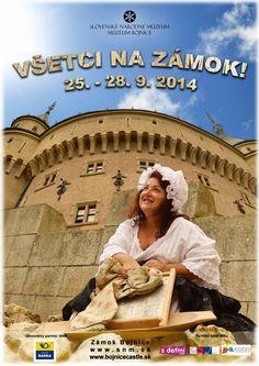Bojnický zámok počas jesene 2014 pozýva na netradičné podujatie:  http://zaujimavosti.net/kultura/bojnicky-zamok-pozyva-na-jesenne-podujatie-vsetci-na-zamok/