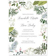 Spring Botanics Invite