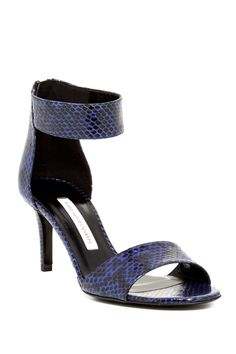 Kinder Snakeskin Sandal by Diane von Furstenberg on @nordstrom_rack - Size 7 - On sale for $179