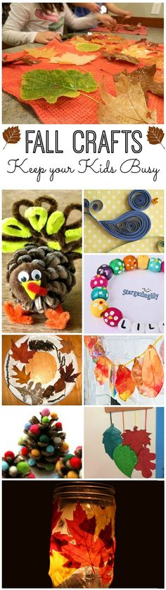 Fall Craft Ideas For Kids: Keep your kid busy with these amazing fall craft ideas! They add lots of fun and they are child friendly as well. Here are cool craft ideas for your kids to try at home this fall