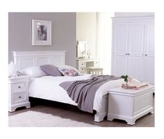 The Brooke Elegance bedroom collection enjoys touches of both modern and traditional detailing to create a perfect range for any home.  Beautifully painted furniture in a stunning white finish with a simple, classic style for the bedroom. Pewter look handles complete the sophisticated look.  Built from solid timber this collection is full of great options for all room sizes.  Fully Assembled.