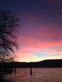 Zürichsee Sonnenuntergang
