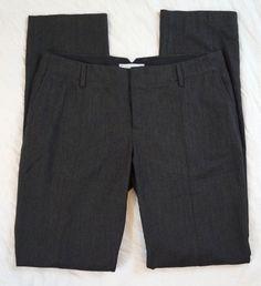 Gap True Straight Flat Front Stretch Charcoal Womens Pants Size 8R (S8#494) #GAP #DressPants Denim Branding, Big Star, Talbots, Dress Pants, Bermuda Shorts, Charcoal, Gap, Short Dresses, Pants For Women