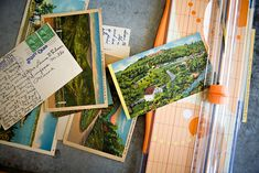 DIY PROJECT: VINTAGE POSTCARD CALENDAR JOURNAL