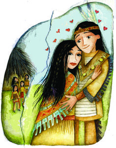 Adah and Galilah by Niki Leonidou Native Indian, Nativity, Illustration, Artist, The Nativity, Artists, Illustrations, Birth