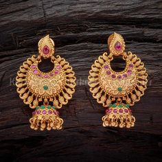 Jewelry Design Earrings, Gold Earrings Designs, Bracelet Designs, Necklace Designs, Gold Bridal Earrings, Gold Wedding Jewelry, Gold Jewelry, Gold Necklace, Gold Chain Design
