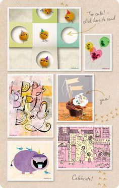 Fun ideas on how to make your favorite peeps feel extra special on their birthday.  From The American Greetings Blog.
