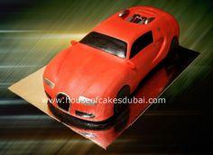 Buggati car shaped cake in Dubai