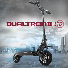 2017 della corea di disegno più potente dualtron ii scooter elettrico 60 v 1600 w