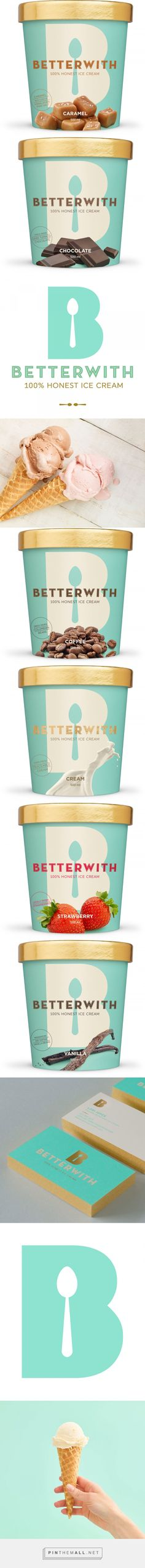 Grab Your Spoon for Betterwith Farm-Fresh Ice Cream Packaging — The Dieline | Packaging & Branding Design & Innovation News - created via https://pinthemall.net