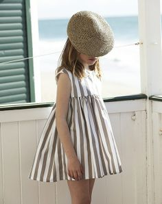 Striped summer dress - Pepito By Chus