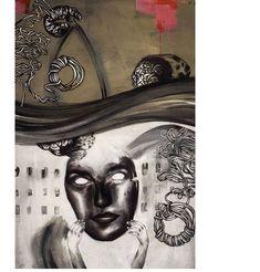 #day13 #junkohanhero #arts #art #artsy #illustration #artwork #draw #drawing #paint Arts And Crafts, Diy Crafts, Acrylic Art, Art Drawings, Graphics, Portrait, Artsy, Painting, Inspiration
