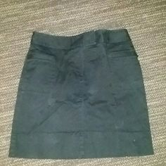 Black Skirt Black skirt .. Gently loved, in over all good condition LOFT Skirts