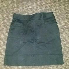 Black Skirt Black skirt .. Gently loved, in over all good condition LOFT Skirts