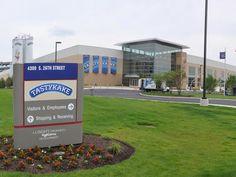 The Tastykake factory in Philadelphia, PA