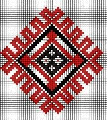 Image result for motive populare romanesti Tapestry Crochet Patterns, Bead Loom Patterns, Weaving Patterns, Stitch Patterns, Creative Embroidery, Diy Embroidery, Cross Stitch Embroidery, Embroidery Patterns, Cross Stitch Pillow
