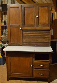 hoosier Verjüngungskur, Kreide malen, bemalte Möbel