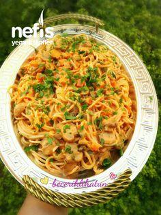Mantarlı Kremalı Spagetti - Nefis Yemek Tarifleri Ethnic Recipes, Food, Essen, Meals, Yemek, Eten
