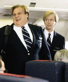 Image via We Heart It #actors #funny #chrisfarley #davidspade