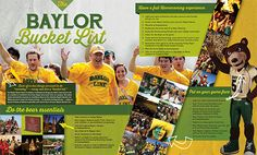 Which items on your #BaylorBucketList will you complete in 2014? (click for 75+ suggestions)