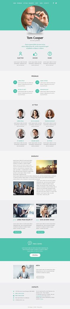 Template 53101 - Responsive Newsletter Template