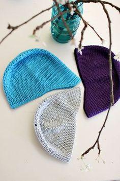 Virkattu lippapipo ja pari lisää | Pretty Nail Colors, Spring Nail Colors, Crochet Bikini, Knit Crochet, Crochet Hats, Minimalist Outfit Summer, Knitted Hats, Winter Outfits, Winter Hats