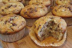 Schnelle Schoko - Bananen - Muffins