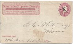 American Express was originally founded in Albany as an express mail business.