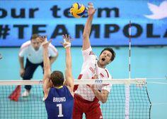 21.09.2014 - Katowice , Final Mistrzostwa Swiata . POLAND, FIVB Volleyball Men's World Championship 2014 The Final . Brazylia (niebieskie) - Polska (bialo-czerwone) n/z. Michal Winiarski . Fot. Tomasz Wantula / EDYTOR.net / NEWSPIX.PL --- Newspix.pl *** Local Caption *** www.newspix.pl  mail us: info@newspix.pl call us: 0048 022 23 22 222 --- Polish Picture Agency by Ringier Axel Springer Poland