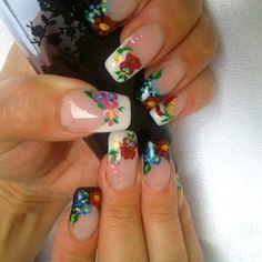 Hungarian nails art