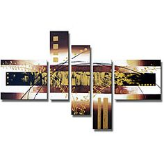 @Overstock - Add a modern flair to your living space with this stunning gallery-wrapped canvas art piece. Titled 'Hand-painted Abstract 101,' the multi-panel art piece features an eye-catching contemporary design in neutral tones that add warmth to your room.http://www.overstock.com/Home-Garden/Hand-painted-Abstract-101-Gallery-wrapped-Canvas-Art-Set/5105718/product.html?CID=214117 $89.99