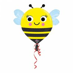 Fóliový balón juniorshape Včielka - PARTYSPIRIT.SK Tweety, Character, Art, Madness, Art Background, Kunst, Performing Arts, Lettering, Art Education Resources
