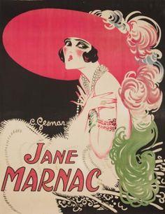 By Charles Gesmar (1900-1928), ca. 1920, Jane Marnac.