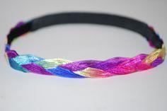 Carnival Braid Headband  CUTE COMFY Bands   Super by Ladybuglogic, $6.25