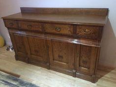 BUFFET antique bois massif | buffets, vaisseliers | Lanaudière | Kijiji