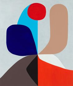 Eight Spokes © Stephen Ormandy ~ Stephen Ormandy  Polychromatism at Tim Olsen Gallery Sydney Australia ~ 7 November - 25 November