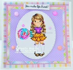 "Happy Monday, Crafters! I'm here with some inspiration for the new challenge at The Paper Nest Dolls using the adorable image called ""Avery with Lollipop"" ! For more details, come by my blog: http://papercraftycreations.blogspot.com/2017/06/pnd-avery-with-lollipop.html  #papernestdolls #christineyoung #cardmaking #copicmarker #summer #noellemartin #lawnfawn #doodlebugdesign #papercraftycreations"