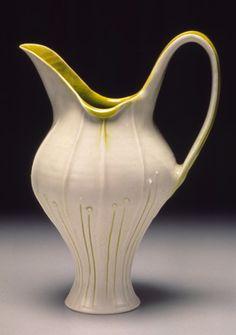 Leah Leitson porcelain pottery at MudFire Gallery, Atlanta, Decatur, GA