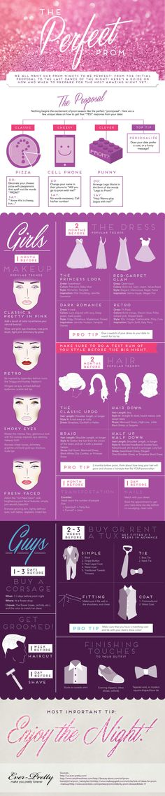 The Perfect Prom Infographic