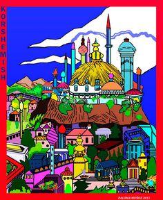 Khorshemish es la capital del reino de Koth. Su gobernante es el emperador Strabonus. Khorshemish is the  capitol  city of the Kingdom of Koth. His ruler is Emperor Strabonus
