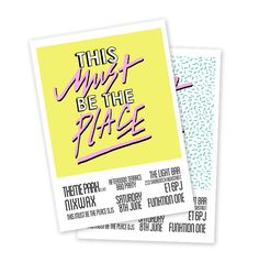 This Must be The Place on Behance