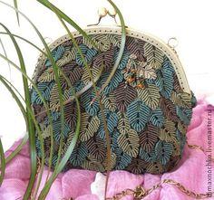 """Сумочка """"Дубрава"""" - сумка женская,сумка ручной работы,сумочка,сумка с декором"""