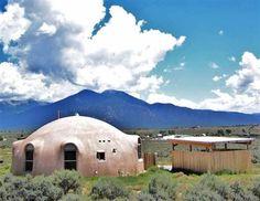 Monolithic Dome Home in El Prado, New Mexico, 1000 sq ft