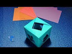 Origami: Cubo Multiusos- Hogar Tv  por Juan Gonzalo Angel