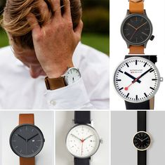 Instead: invest in a leather band watch. | 10 Signs It's Time To Update Your Wardrobe