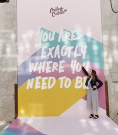 'You Are Exactly Where You Need To Be': A Recap of My Create & Cultivate LA Experience – The little thins – Event planning, Personal celebration, Hosting occasions Event Branding, Branding Design, Stage Design, Event Design, Last Minute Kostüm, Church Design, Kirchen, Event Decor, Event Ideas