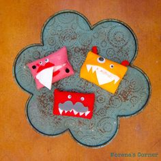 Morena's Corner - Pocket Tissue Monsters . Every little school kid needs one of there at keep in their classroom!