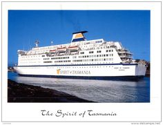 Ferries - (736) Ferry Spirit of Tasmania