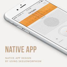 [UI/UX design] Native application design